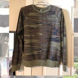 Soft Camo Crewneck Sweatshirt
